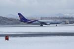 北の熊さんが、新千歳空港で撮影したタイ国際航空 A300B4-622Rの航空フォト(飛行機 写真・画像)