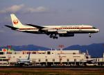 チャーリーマイクさんが、福岡空港で撮影した日本航空 DC-8-62の航空フォト(写真)