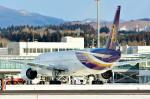 Dojalanaさんが、函館空港で撮影したタイ国際航空 777-3D7の航空フォト(飛行機 写真・画像)