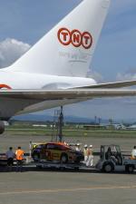 北の熊さんが、新千歳空港で撮影したTNT航空 747-4HAF/ER/SCDの航空フォト(飛行機 写真・画像)