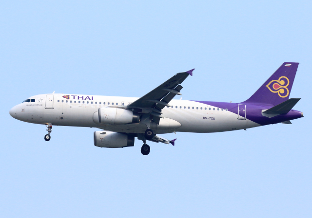 タイ国際航空 Airbus A320-200 H...