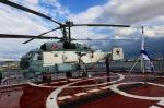 函空さんが、函館港港町埠頭で撮影したロシア海軍の航空フォト(写真)