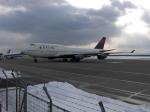 北の熊さんが、新千歳空港で撮影したデルタ航空 747-451の航空フォト(飛行機 写真・画像)