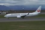 北の熊さんが、新千歳空港で撮影したJALエクスプレス 737-846の航空フォト(飛行機 写真・画像)