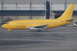 みなみ まどかさんが、関西国際空港で撮影したエアワーク 737-219C/Advの航空フォト(飛行機 写真・画像)