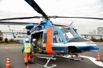 tsubasa0624さんが、東京臨海広域防災公園ヘリポートで撮影した警視庁 412EPの航空フォト(写真)
