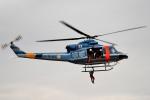 tsubasa0624さんが、東京臨海広域防災公園ヘリポートで撮影した警視庁 412EPの航空フォト(飛行機 写真・画像)