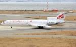 なぁちゃんさんが、関西国際空港で撮影したキルギスタン Tu-154Mの航空フォト(写真)