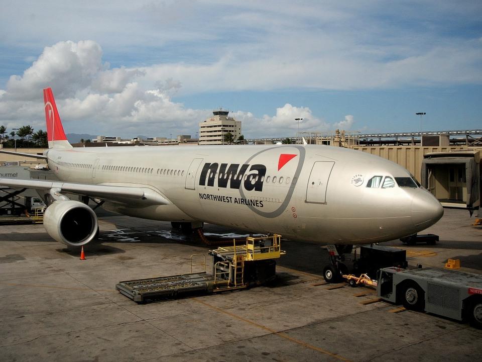 tsubasa0624さんのノースウエスト航空 Airbus A330-300 (N814NW) 航空フォト