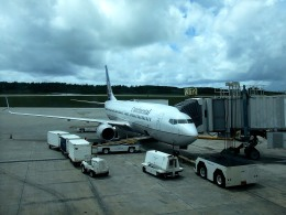 tsubasa0624さんが、アントニオ・B・ウォン・パット国際空港で撮影したコンチネンタル航空 737-824の航空フォト(飛行機 写真・画像)