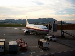 tsubasa0624さんが、ペナン国際空港で撮影したマレーシア航空 737-4H6の航空フォト(写真)