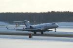 北の熊さんが、新千歳空港で撮影したウェルズ・ファーゴ・バンク・ノースウェスト BD-700-1A10 Global Expressの航空フォト(写真)