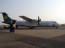 tomoataさんが、ニャウンウー空港で撮影したヤンゴン航空の航空フォト(飛行機 写真・画像)