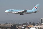 うっきーさんが、ロサンゼルス国際空港で撮影した大韓航空 A380-861の航空フォト(写真)