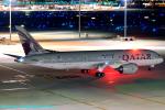 Chofu Spotter Ariaさんが、羽田空港で撮影したカタール航空 787-8 Dreamlinerの航空フォト(飛行機 写真・画像)