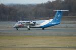 北の熊さんが、新千歳空港で撮影したサハリン航空 DHC-8-311Q Dash 8の航空フォト(写真)