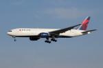 アイスコーヒーさんが、成田国際空港で撮影したデルタ航空 777-232/ERの航空フォト(飛行機 写真・画像)