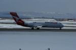 北の熊さんが、新千歳空港で撮影したカンタスリンク 717の航空フォト(写真)