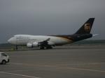 北の熊さんが、新千歳空港で撮影したUPS航空 747-44AF/SCDの航空フォト(飛行機 写真・画像)