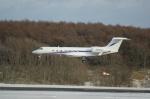 北の熊さんが、新千歳空港で撮影したウェルズ・ファーゴ・バンク・ノースウェスト G-V-SP Gulfstream G550の航空フォト(写真)