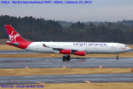 Chofu Spotter Ariaさんが、成田国際空港で撮影したヴァージン・アトランティック航空 A340-313の航空フォト(飛行機 写真・画像)