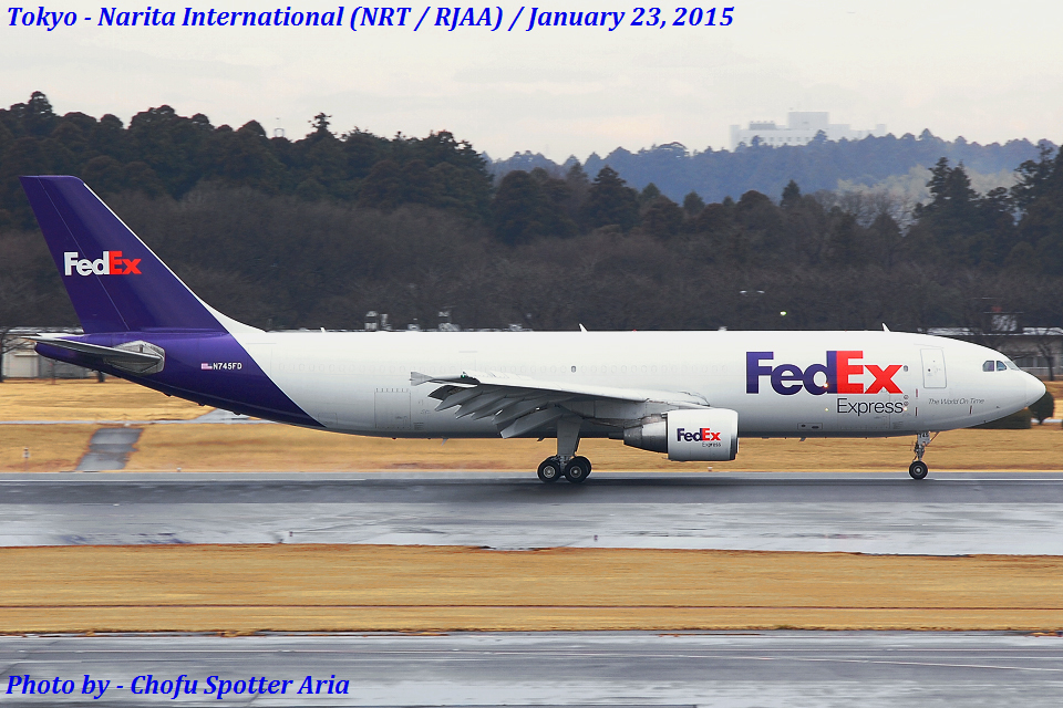 Chofu Spotter Ariaさんのフェデックス・エクスプレス Airbus A300-600 (N745FD) 航空フォト