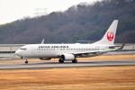 tsubasa0624さんが、岡山空港で撮影した日本航空 737-846の航空フォト(飛行機 写真・画像)