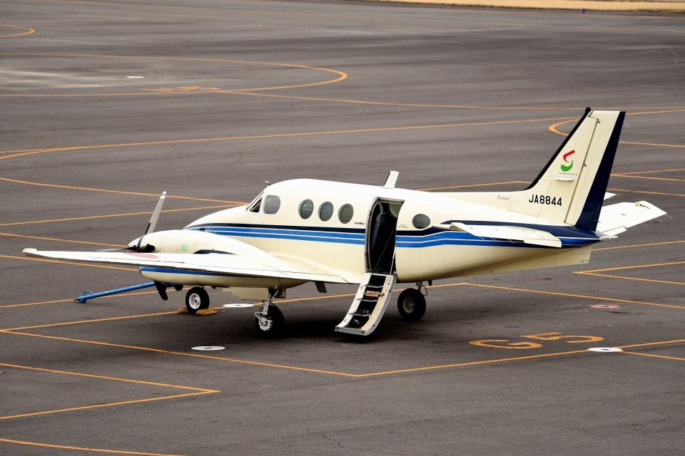 tsubasa0624さんの日本法人所有 Beechcraft 90 King Air (JA8844) 航空フォト