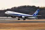 tsubasa0624さんが、岡山空港で撮影した全日空 767-381の航空フォト(飛行機 写真・画像)