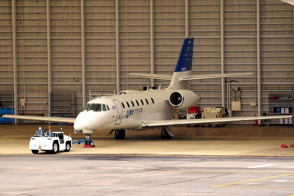 tsubasa0624さんの宇宙航空研究開発機構 Cessna 680 Citation Sovereign/Sovereign+ (JA68CE) 航空フォト