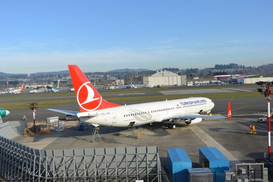 こずぃろうさんのターキッシュ・エアラインズ Boeing 737-900 (TC-JYL) 航空フォト