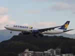 わたくんさんが、福岡空港で撮影したスカイマーク A330-343Xの航空フォト(写真)
