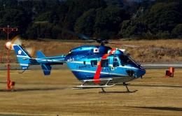 rjnsphotoclub-No.07さんが、静岡空港で撮影した千葉県警察 BK117C-1の航空フォト(写真)