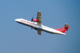 まいけるさんが、ヤンゴン国際空港で撮影したアジアン・ウィングス ATR-72-500 (ATR-72-212A)の航空フォト(飛行機 写真・画像)