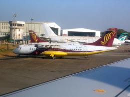 まいけるさんが、ヤンゴン国際空港で撮影したマンダレー航空 ATR-72-212の航空フォト(飛行機 写真・画像)