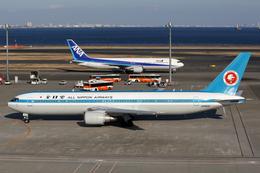 Kinyaさんが、羽田空港で撮影した全日空 767-381の航空フォト(写真)