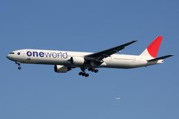 Kinyaさんが、羽田空港で撮影した日本航空 777-346の航空フォト(写真)