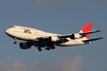 Kinyaさんが、羽田空港で撮影した日本航空 747-446Dの航空フォト(写真)