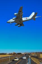 パンダさんが、厚木飛行場で撮影した海上自衛隊 P-1の航空フォト(写真)