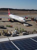 ポカール長田さんが、成田国際空港で撮影したヴァージン・アトランティック航空 A340-313の航空フォト(写真)