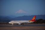 xxxxxzさんが、静岡空港で撮影した北京首都航空 A320-214の航空フォト(飛行機 写真・画像)