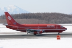 deka2さんが、新千歳空港で撮影したオーロラ 737-2J8/Advの航空フォト(写真)