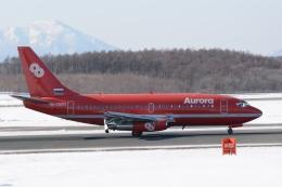 deka2さんが、新千歳空港で撮影したオーロラ 737-2J8/Advの航空フォト(飛行機 写真・画像)