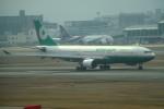 tsubasa0624さんが、福岡空港で撮影したエバー航空 A330-203の航空フォト(飛行機 写真・画像)