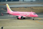 tsubasa0624さんが、福岡空港で撮影したフジドリームエアラインズ ERJ-170-200 (ERJ-175STD)の航空フォト(飛行機 写真・画像)