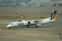 tsubasa0624さんが、福岡空港で撮影した日本エアコミューター DHC-8-402Q Dash 8の航空フォト(写真)