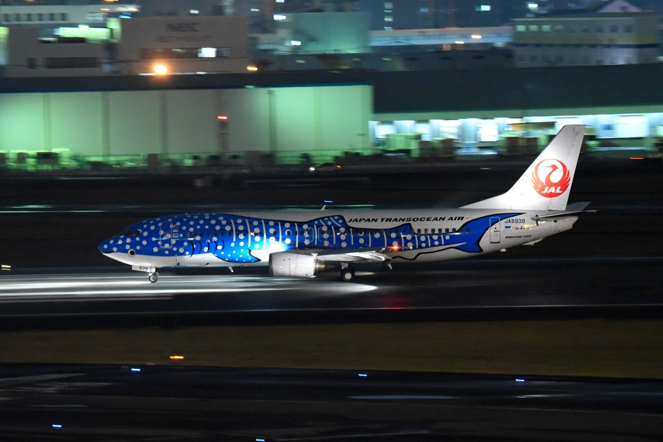 tsubasa0624さんの日本トランスオーシャン航空 Boeing 737-400 (JA8939) 航空フォト