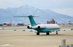 Dojalanaさんが、函館空港で撮影したコーポレート・ジェット・マネジメント BD-700-1A10 Global Express/ASTORの航空フォト(飛行機 写真・画像)