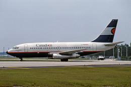 Gambardierさんが、オーランド国際空港で撮影したカナディアン航空 737-242Cの航空フォト(飛行機 写真・画像)