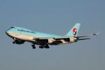 アイスコーヒーさんが、成田国際空港で撮影した大韓航空 747-4B5F/ER/SCDの航空フォト(飛行機 写真・画像)